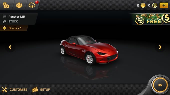 CarX Drift Racing初めての車
