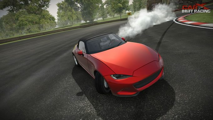 ドリフトゲームアプリCarX Drift Racingドリフト走行画像