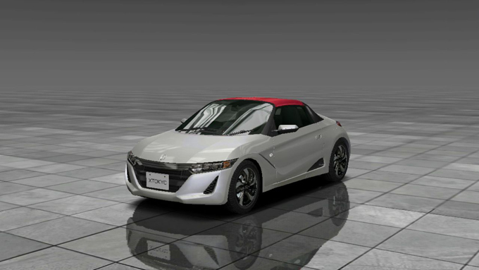 Honda S660 CONCEPT EDITION(2015年式)首都高バトルXTREME 新作アプリ 事前登録でNISSAN GT-R Premium edition(2013年式)が手に入る!