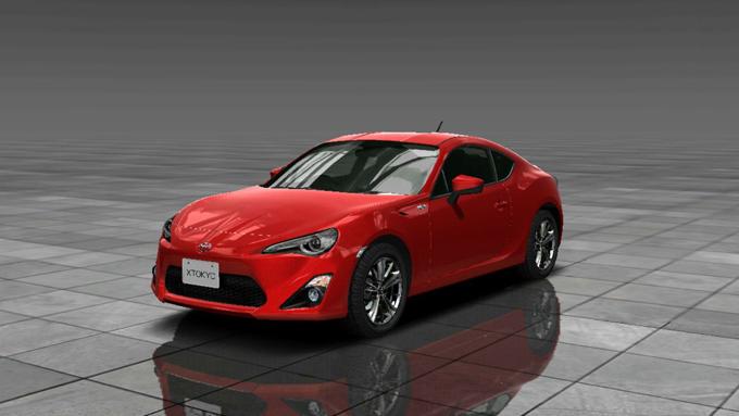 TOYOTA 86 GT(2015年式)首都高バトルXTREME 新作アプリ 事前登録でNISSAN GT-R Premium edition(2013年式)が手に入る!
