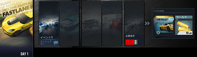 (DAY2更新) ニードフォースピード ノーリミット NFSNoLimits 攻略 CHEVROLET Corvette Z06 をゲットせよ!