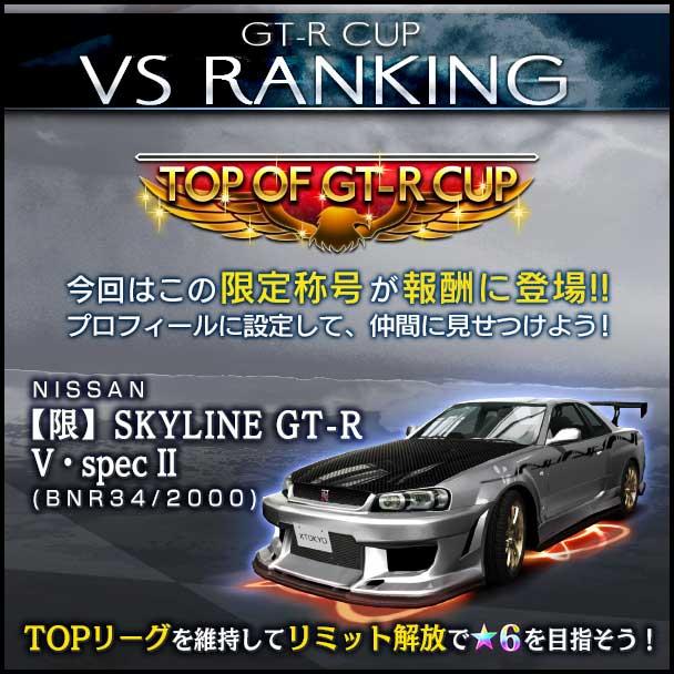 首都高バトル XTREME(エクストリーム)攻略 「GT-R CUP VSランキング」開催