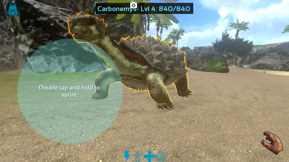 arkモバイルをプレイしたけど恐竜に追いかけられたり いろいろ大変だっ