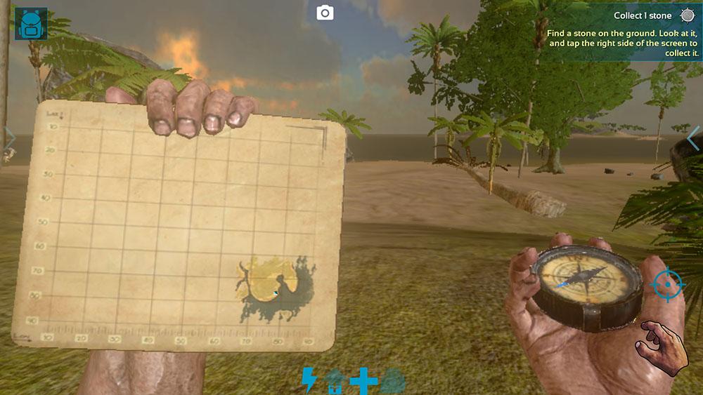 ARKモバイルをプレイしたけど恐竜に追いかけられたり、いろいろ大変だった感動や攻略までいかないやり方とかの説明