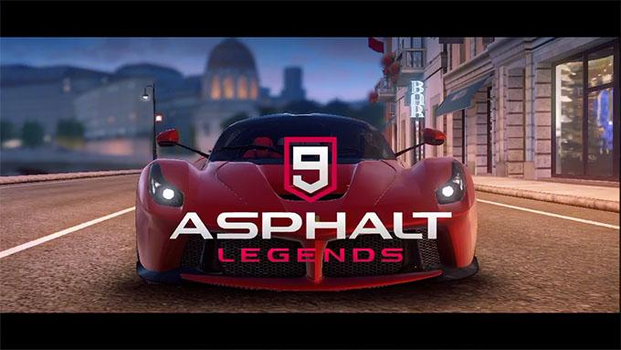 アスファルト9 ASPHALT9 Legends 攻略 配信開始!基本操作を覚えよう!