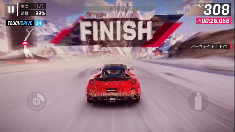 アスファルト9 一番早く走るゴールできる方法を紹介!勝てない時はこう走れ!