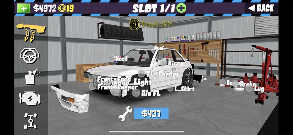 ドリフトスマホアプリゲーム FR LEGENDS(エフアール レジェンズ)がグラフィックとは違う意味のリアルで面白い、レーシングゲームや攻略法の紹介