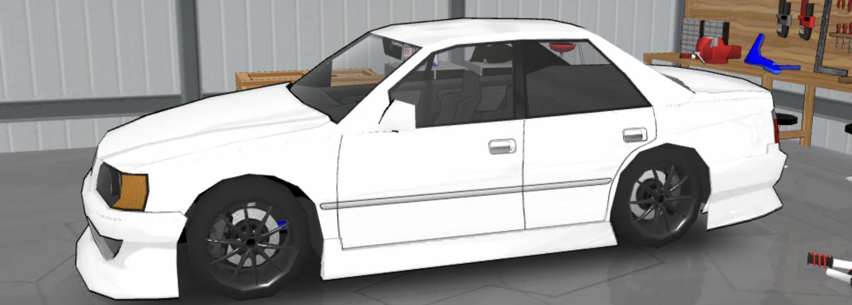 FR LEGENDS(エフアール レジェンズ)車種一覧 チェイサー ボディーキット BN1