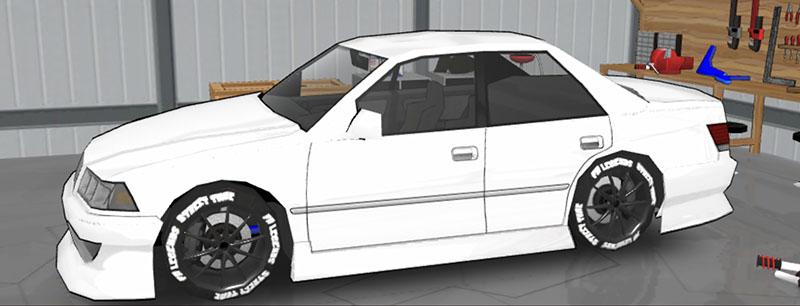 FR LEGENDS(エフアール レジェンズ)車種一覧 マークII ボディーキット BN1