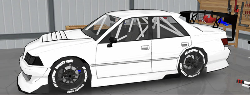 FR LEGENDS(エフアール レジェンズ)車種一覧 マークII ボディーキット BN2