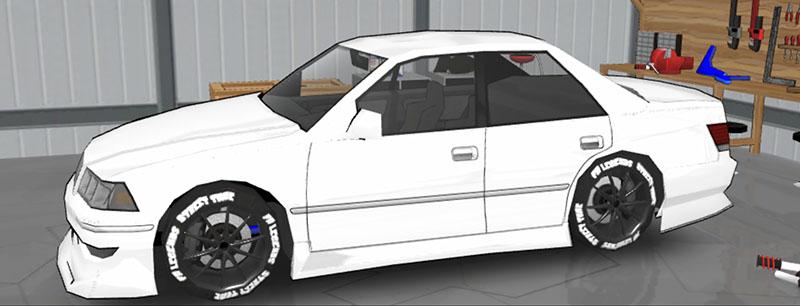 FR LEGENDS(エフアール レジェンズ)車種一覧 マークII ボディーキット JS1