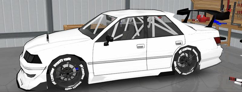FR LEGENDS(エフアール レジェンズ)車種一覧 マークII ボディーキット JS2