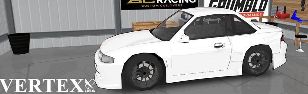 FR LEGENDS(エフアール レジェンズ)車種一覧 シルビア S14 前期 ボディーキット VERTEX